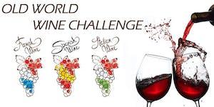(Last 4 Seats) Old World Wine Blind Tasting Challenge