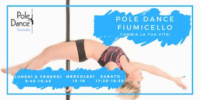 Nuovi corsi base di Pole Dance a Fiumicello