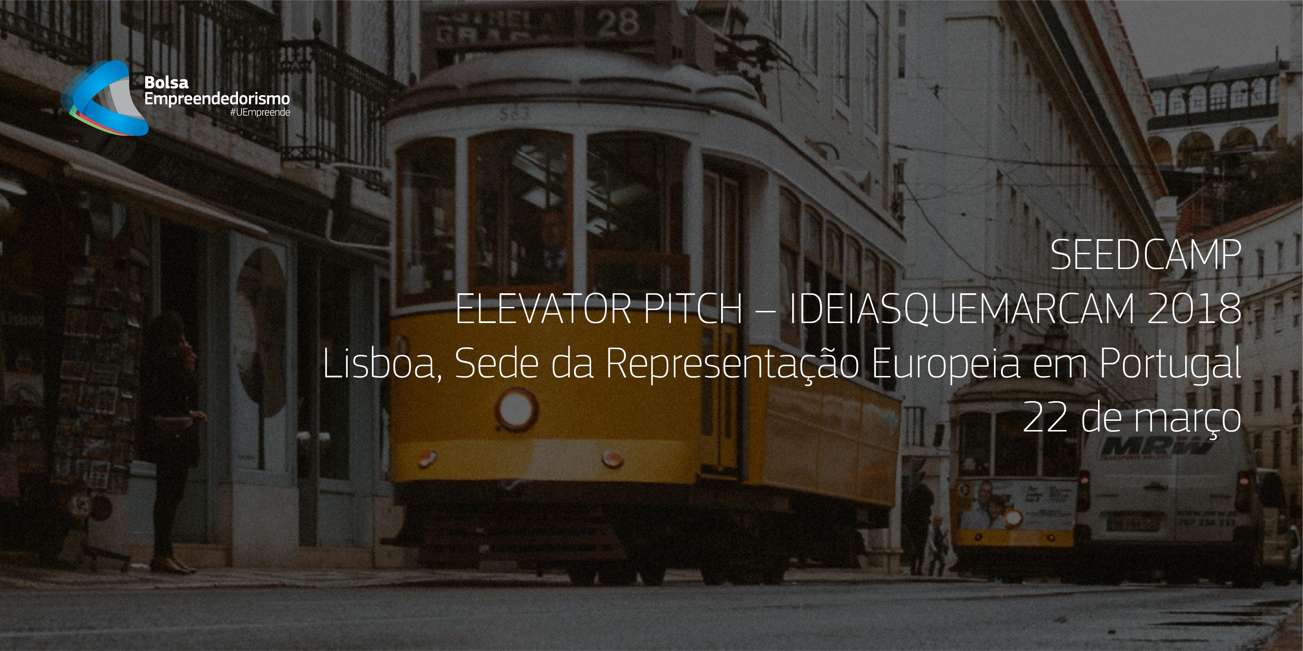 Elevator Pitch – IdeiasQueMarcam Seedcamp #7