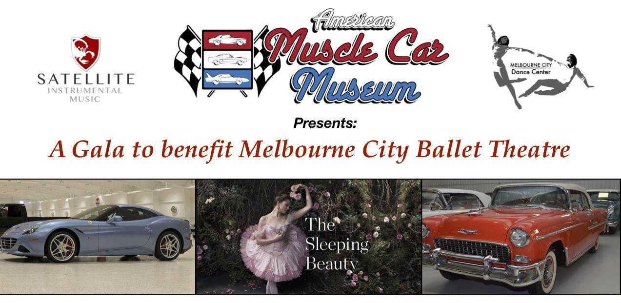 American Muscle Car Museum Gala For Melbourne City Ballet Theatre