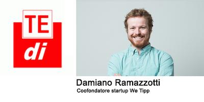 """TEDI 2018 """"Damiano Ramazzotti- """"8000 Insegnanti, un Ministero e una Startup: La community online degli Animatori Digitali"""""""