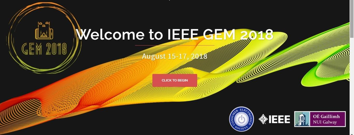 IEEE Games, Entertainment, & Media (GEM) 2018