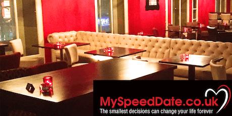 speed dating age range