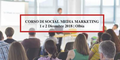 4°Corso di Social Media Marketing ad OLBIA