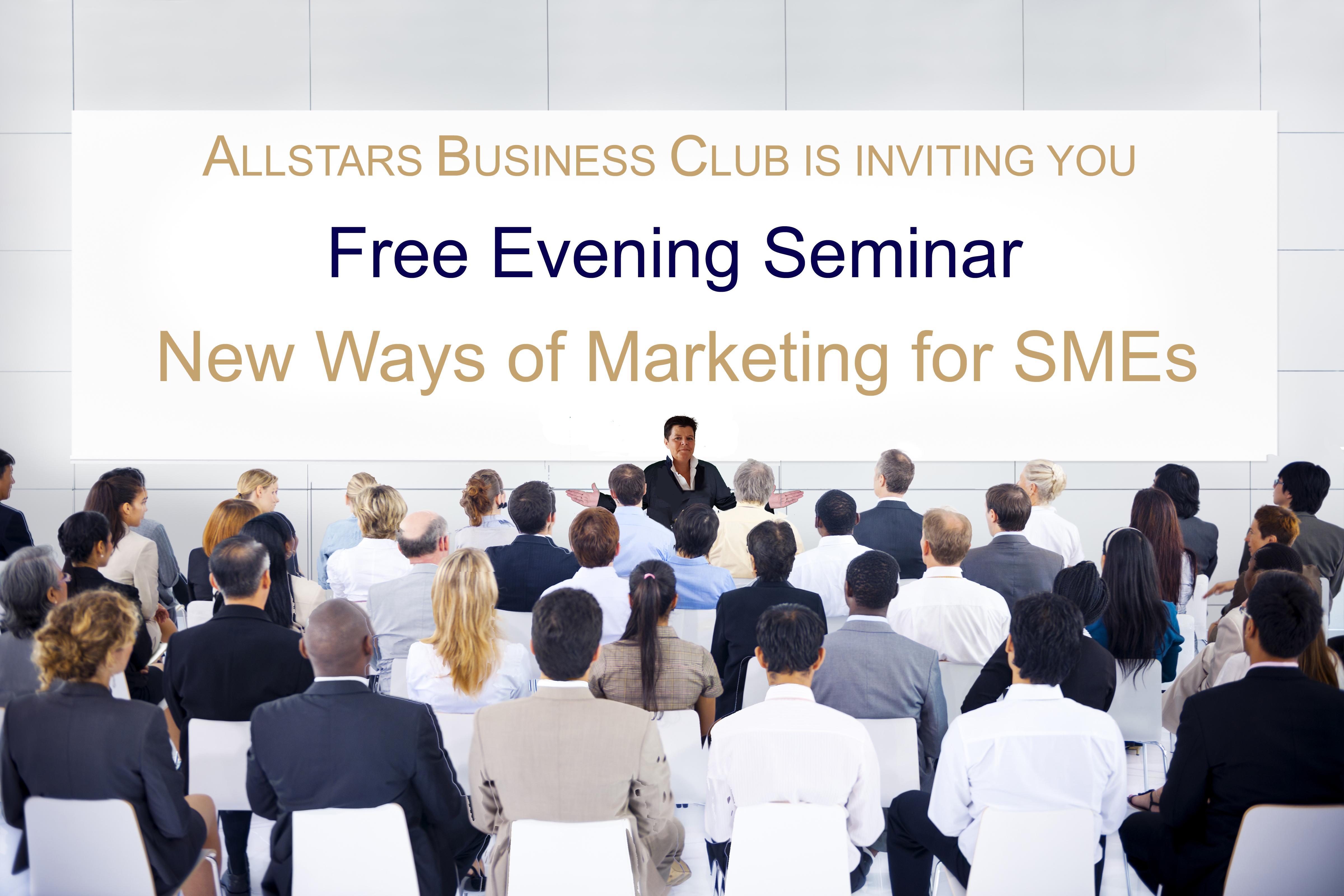 The Allstars Business Club Zurich: Seminar 'New Ways of Marketing'