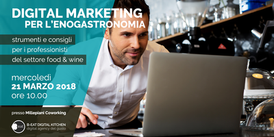 Digital Marketing per l'enogastronomia