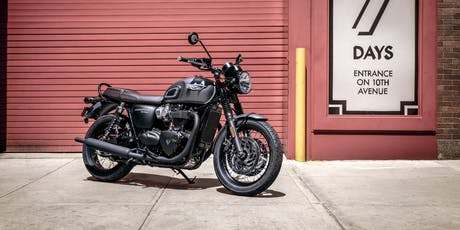 Triumph T120 Test Ride tickets