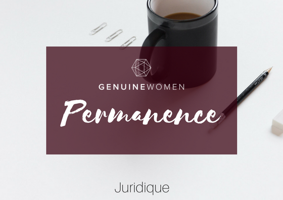 Permanence - Juridique (GENUINES ONLY!)