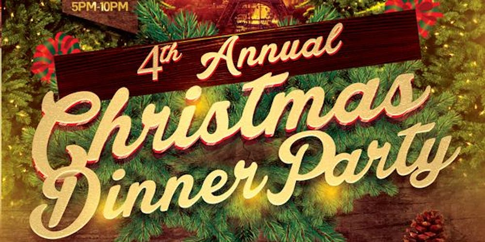 4th annual christmas dinner party christmas in paris tickets sat