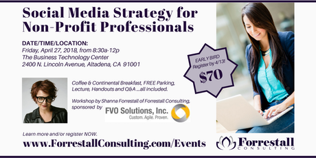 Brilliant branding blueprint live workshop tickets sat feb 10 social media strategy for non profit professionals tickets malvernweather Images