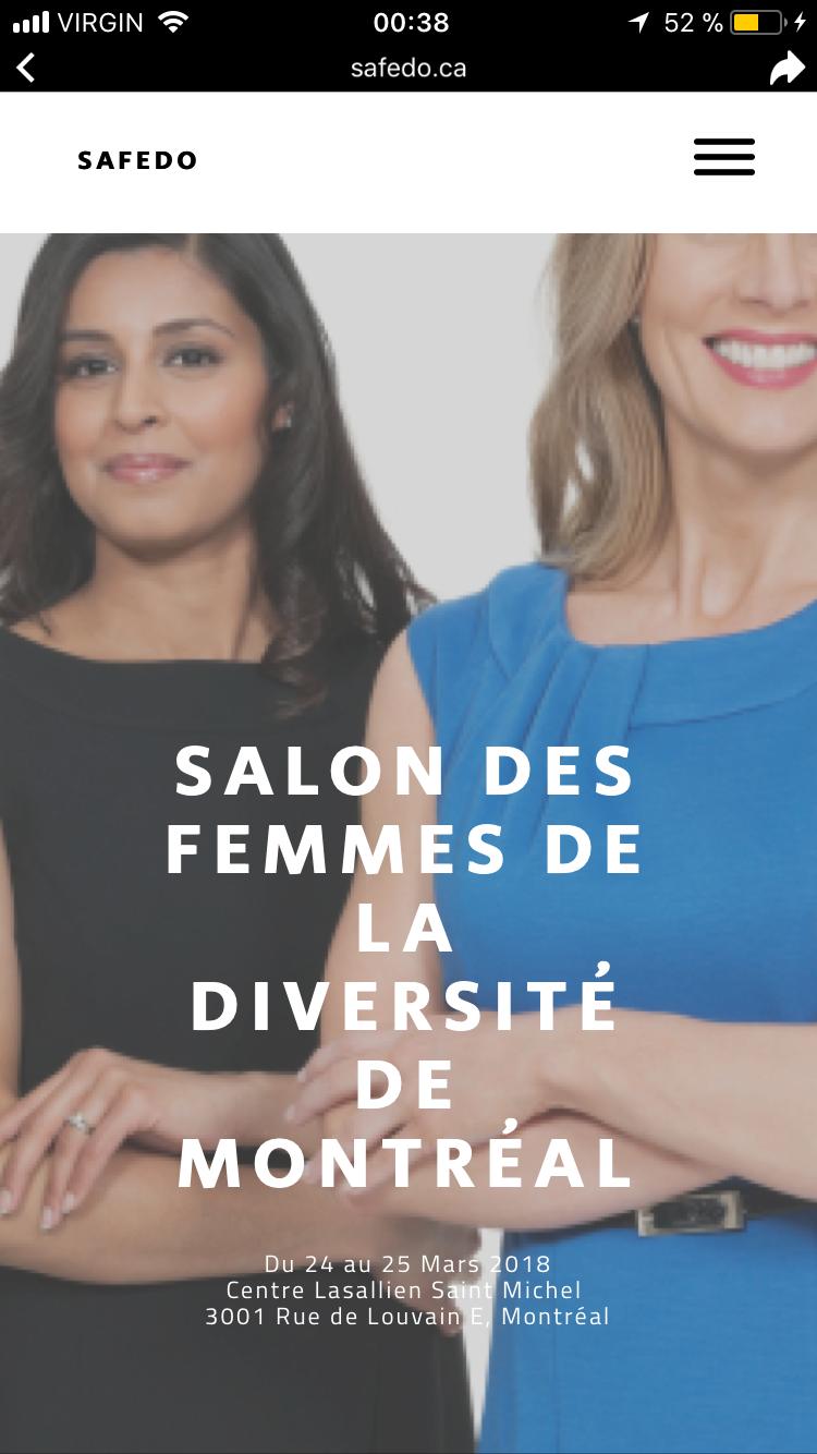 1er Salon de la femme de Diverses Origines