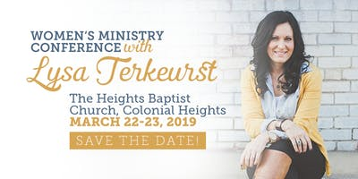 Women's Ministry Conference with Lysa Terkeurst