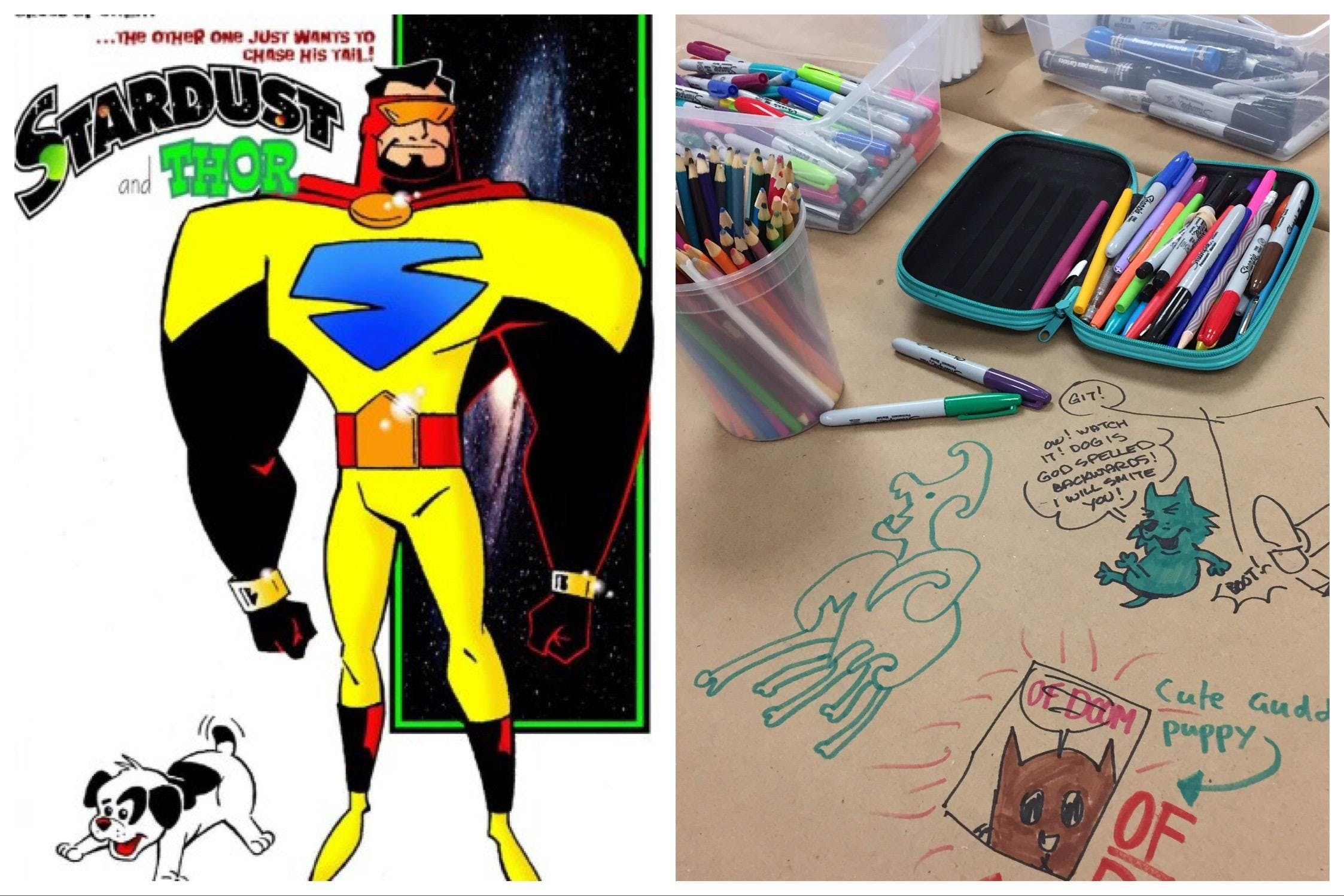 Cartooning Summer Camp with George Broderick