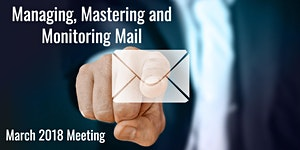 Apple Users Group March 2018 - Managing, Mastering and...