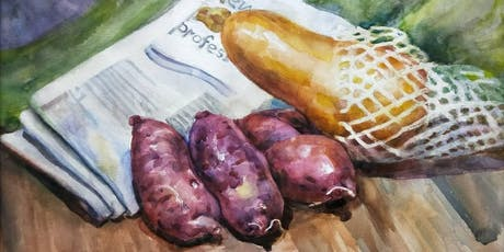 Professional Watercolour Painting Lessons tickets