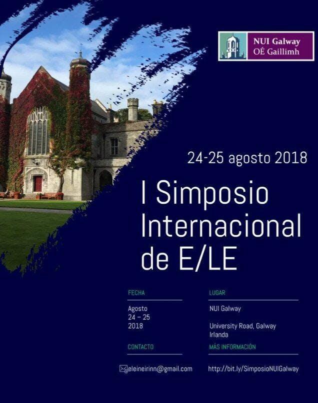 I Simposio Internacional sobre la ELE en la NUI Galway
