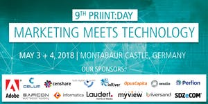 9th priint:day 2018 | May 3 + 4 | Marketing meets...