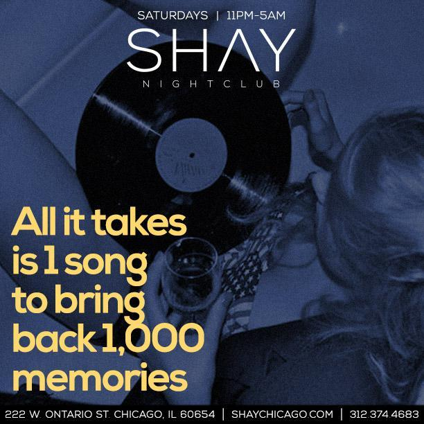 Shay Saturdays at Shay Free Guestlist - 3/24/
