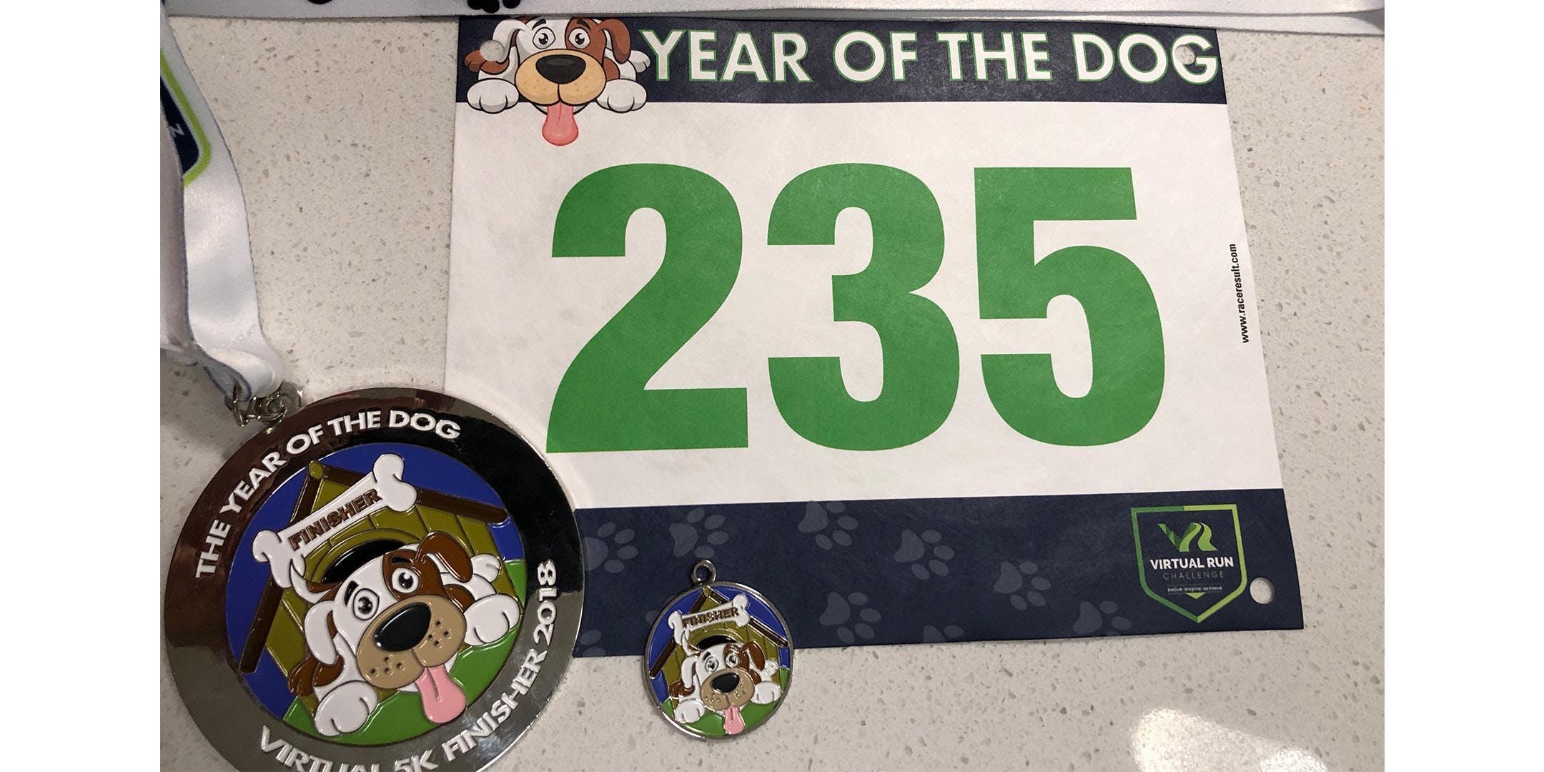 2018 Year of the Dog Virtual 5k Run/Walk - Scottsdale