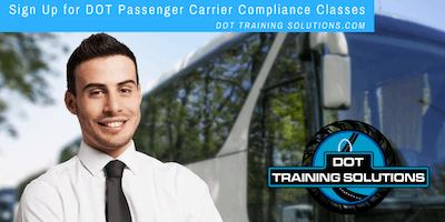 DOT Bus Compliance Workshop, San Diego, CA