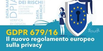 GDPR Nuovo regolamento UE per la privacy | per professionisti e imprenditori