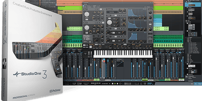 Presentazione software Presonus Studio One Pro 3.5
