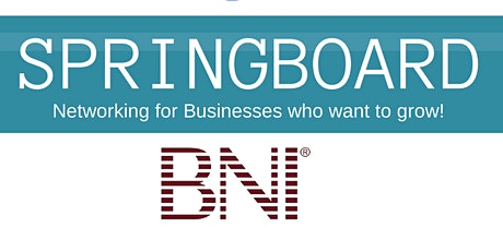 BNI Springboard Business Networking Breakfast tickets