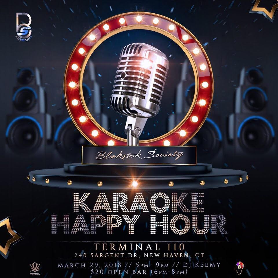 BLAKstok Karaoke Happy Hour