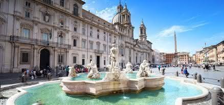 Vivaldi at piazza navona : The Four Season