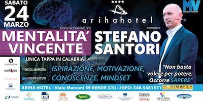 """Evento Formativo di Stefano Santori - """"Mentalità Vincente"""""""