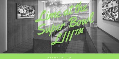 Lime at the Super Bowl LlII™
