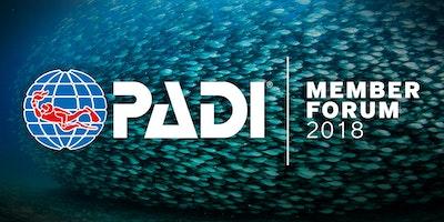 2018 PADI Member Forum - Palermo, Italia