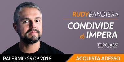 Imparerai a muoverti al meglio nel mondo del web e a costruire una buona comunicazione che abbia un reale e concreto obiettivo - Rudy Bandiera