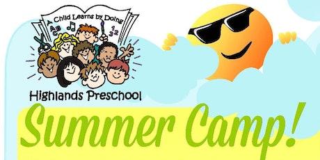 "HP Summer Camp #1: ""Pajama Tales"" tickets"