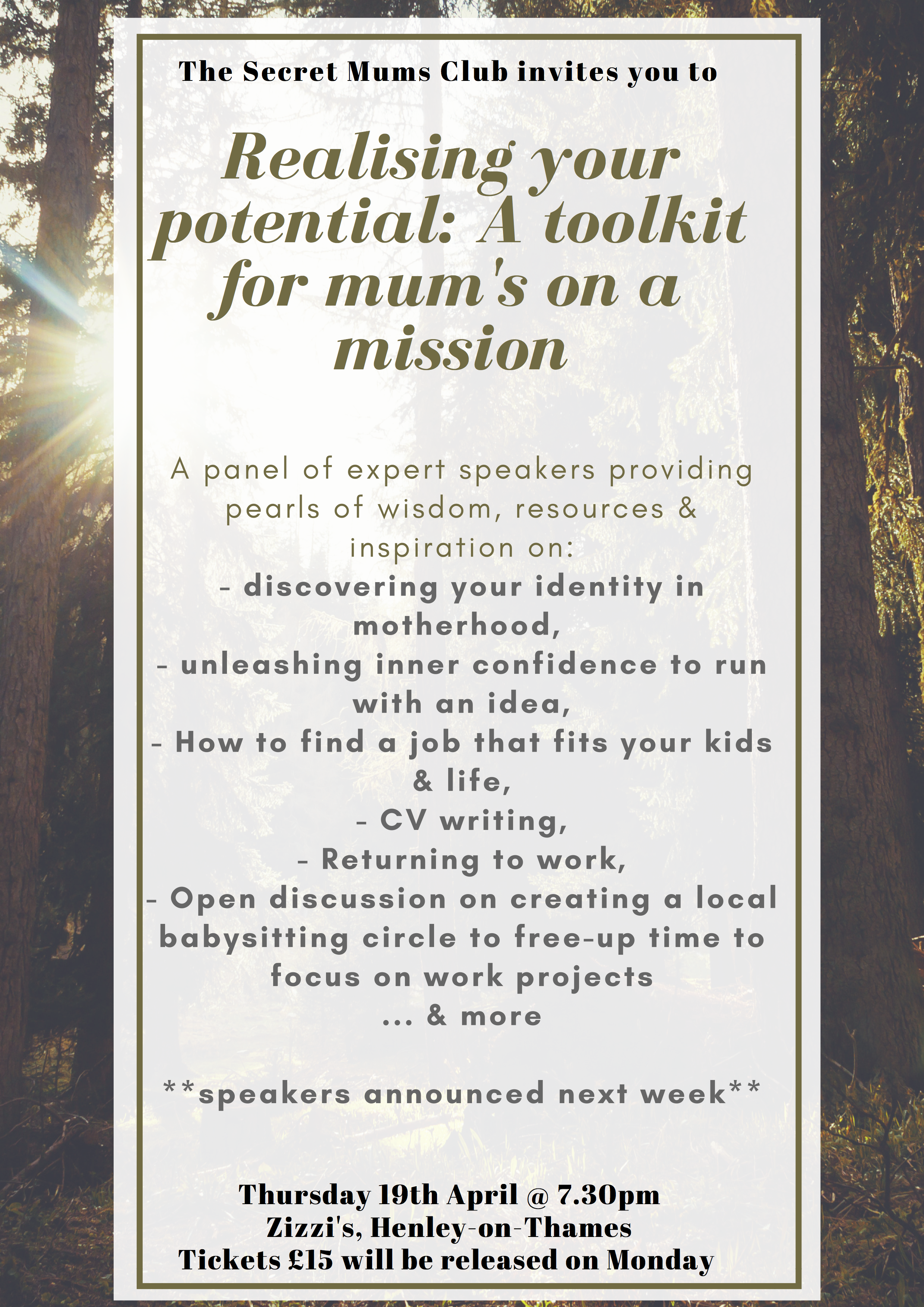 Realising your true potential: a toolkit for