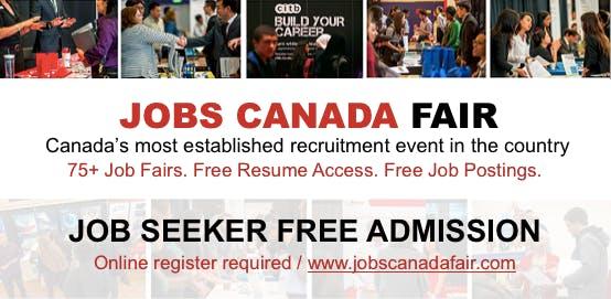 Halifax Job Fair – May 30th, 2018