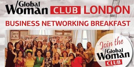 GLOBAL WOMAN CLUB LONDON - BUSINESS BREAKFAST EVENT - JULY tickets