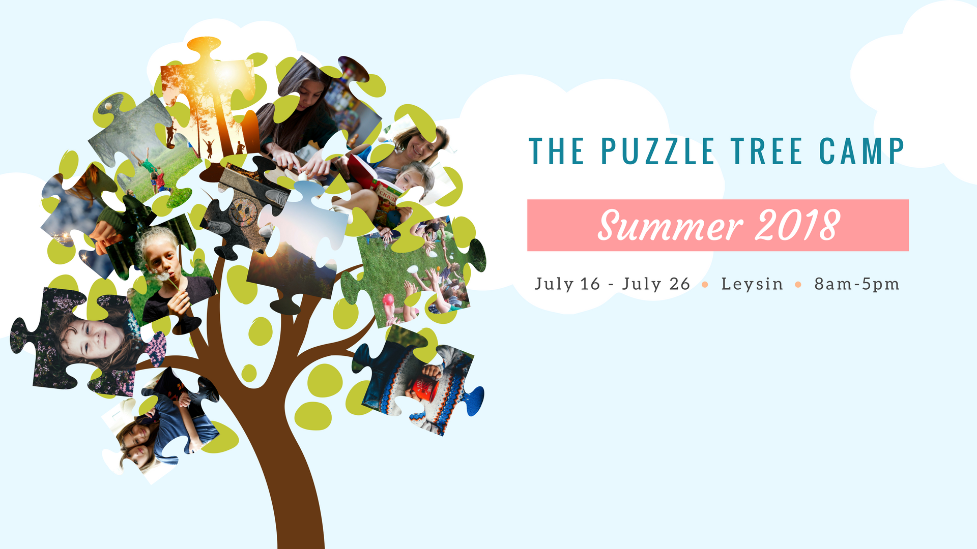 The Puzzle Tree Summer Camp - Switzerland - Early application - Ages 7 to 16 y/o