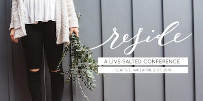 event in Seattle: Reside: A Live Salted Conference | Seattle
