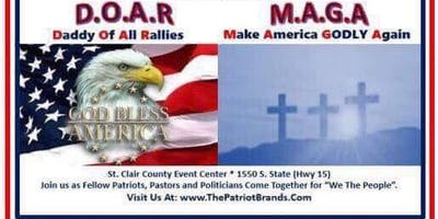 Daddy Of All Rallies, Make America GODLY Again Unity festival and debate.