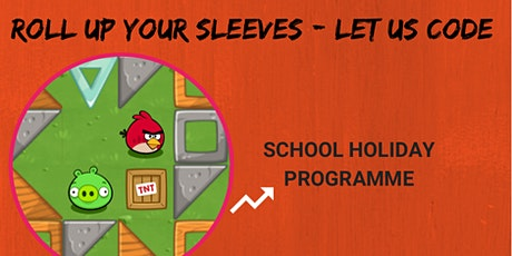 Roll Up Your Sleeves - Let Us Code: Scratchpad Holiday Programme tickets