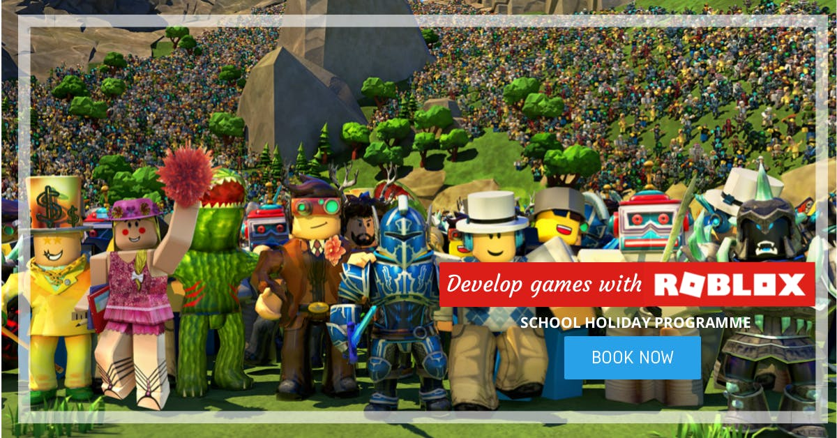 Develop Games With Roblox Scratchpad Holiday Programmes 13 Jan 2019