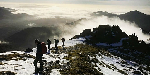 Navigation skills and wild camping in the Peak District