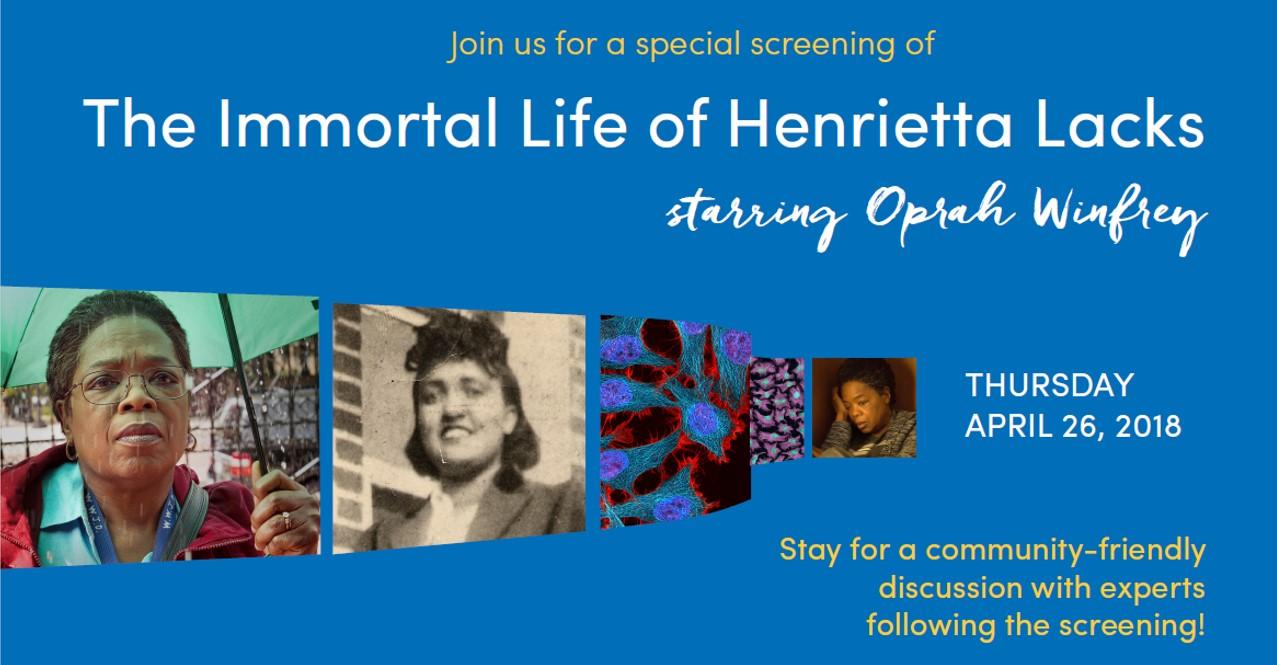 "Special Screening: ""The Immortal Life of Henr"