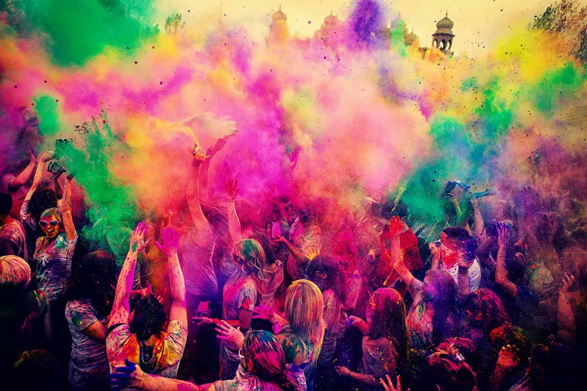 HOLI IN THE CITY : Saturday March 17th - Festival of Colors - Holi Party