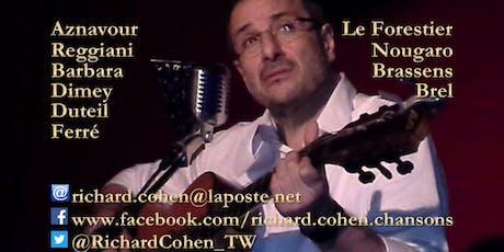 La chanson française en toute intimité... au Théâtre Pandora ! billets