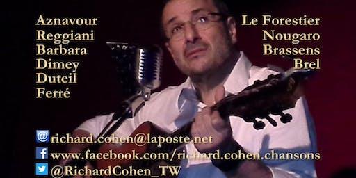 La chanson française en toute intimité... au Théâtre Pandora !