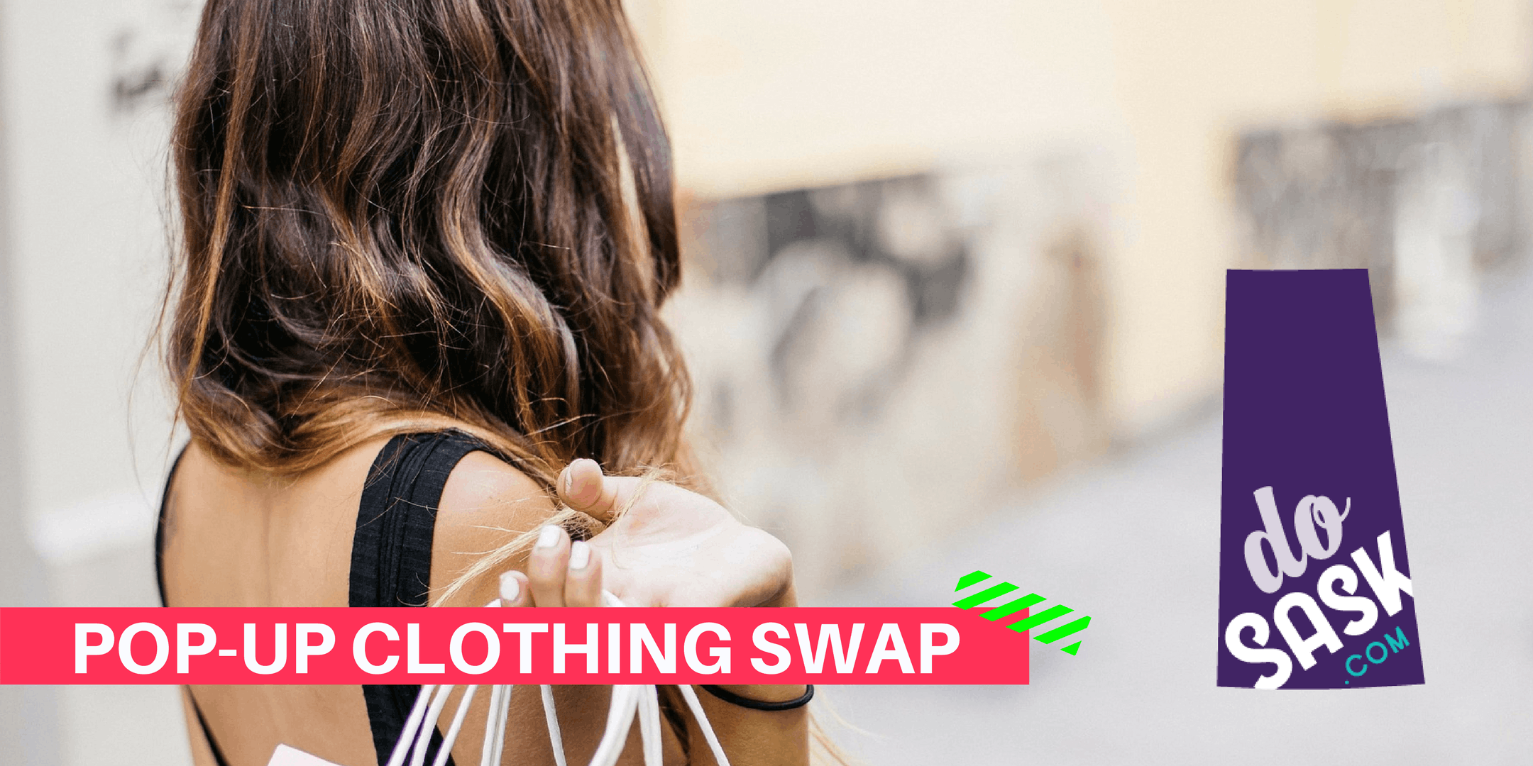 Pop-up Clothing Swap for YWCA - Do Sask & Nat