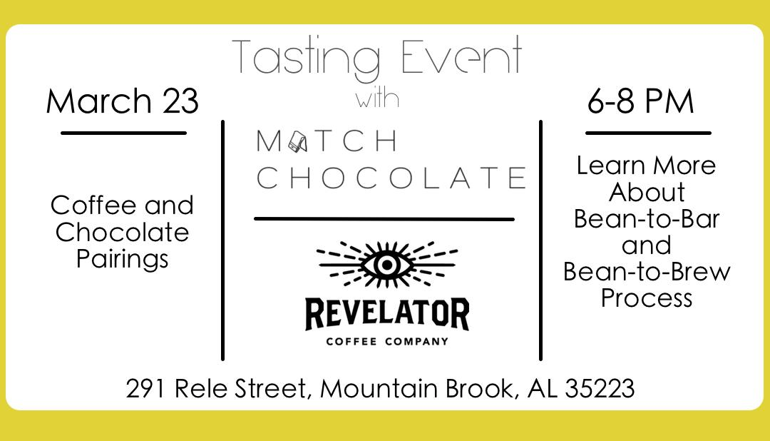 Tasting Event with Match Chocolate and Revela