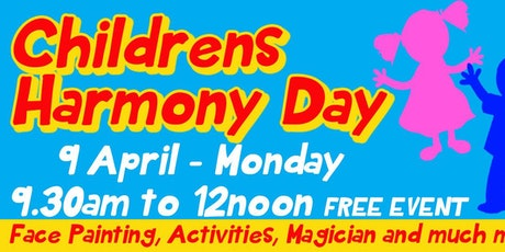 Free family fun day paw patrol tickets sun 25022018 at 1000 children harmony day celebration tickets negle Images
